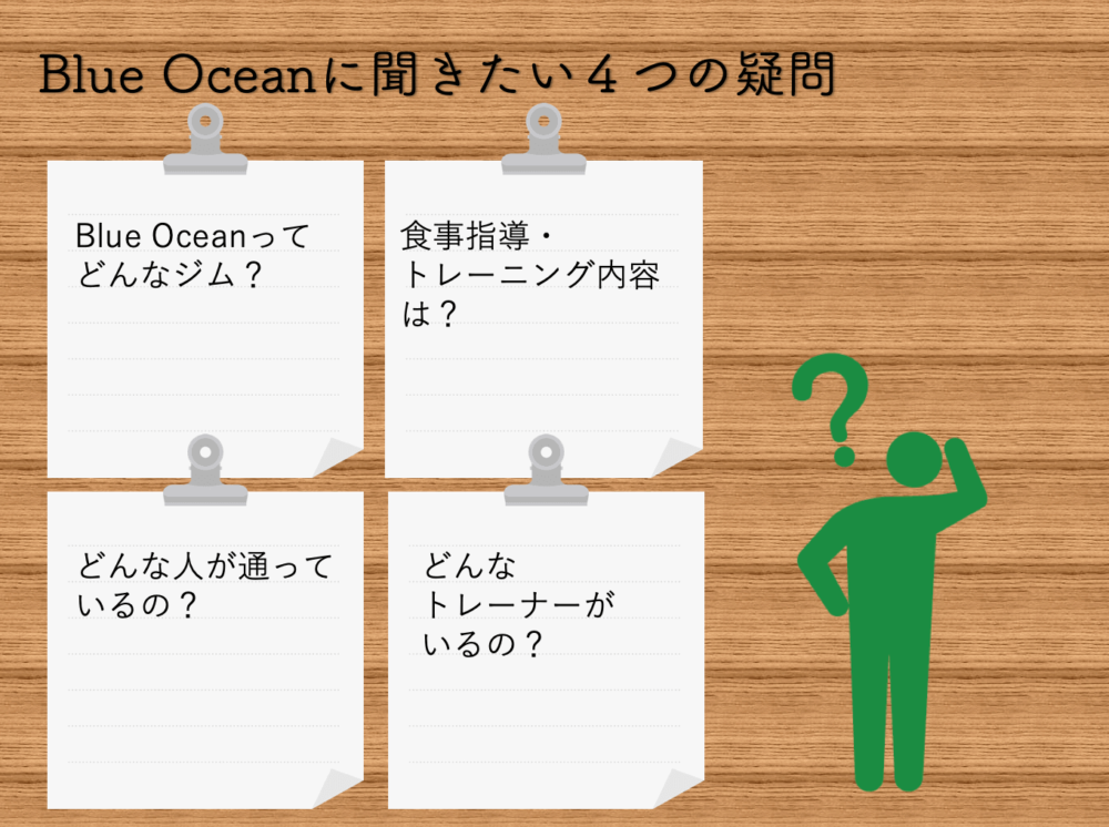 Blue Oceanに聞きたい4つの疑問