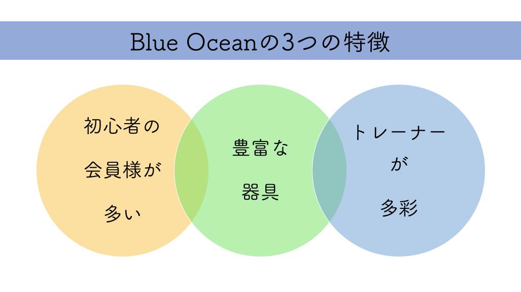 Blue Oceanの3つの特徴
