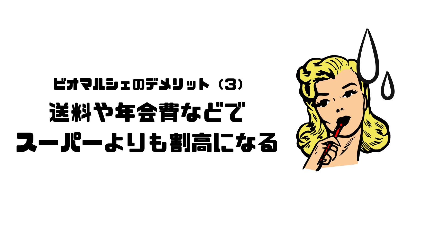 ビオマルシェ_評判_口コミ_デメリット_年会費_送料