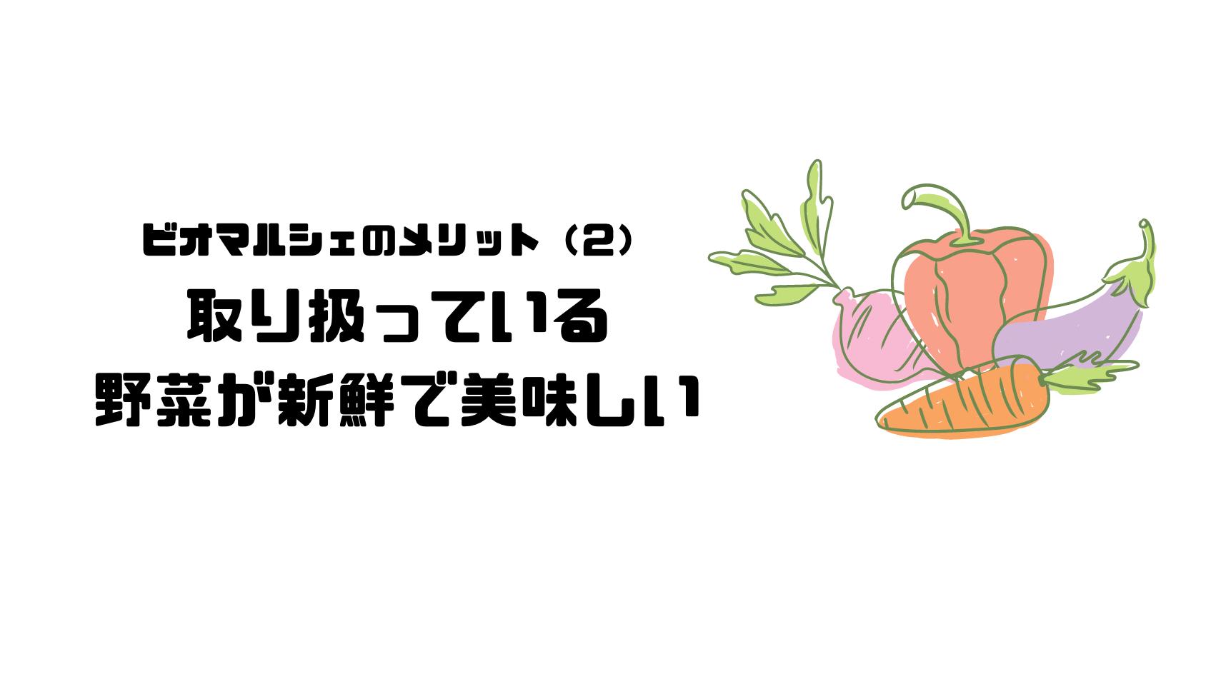 ビオマルシェ_評判_口コミ_メリット_野菜_新鮮_有機野菜