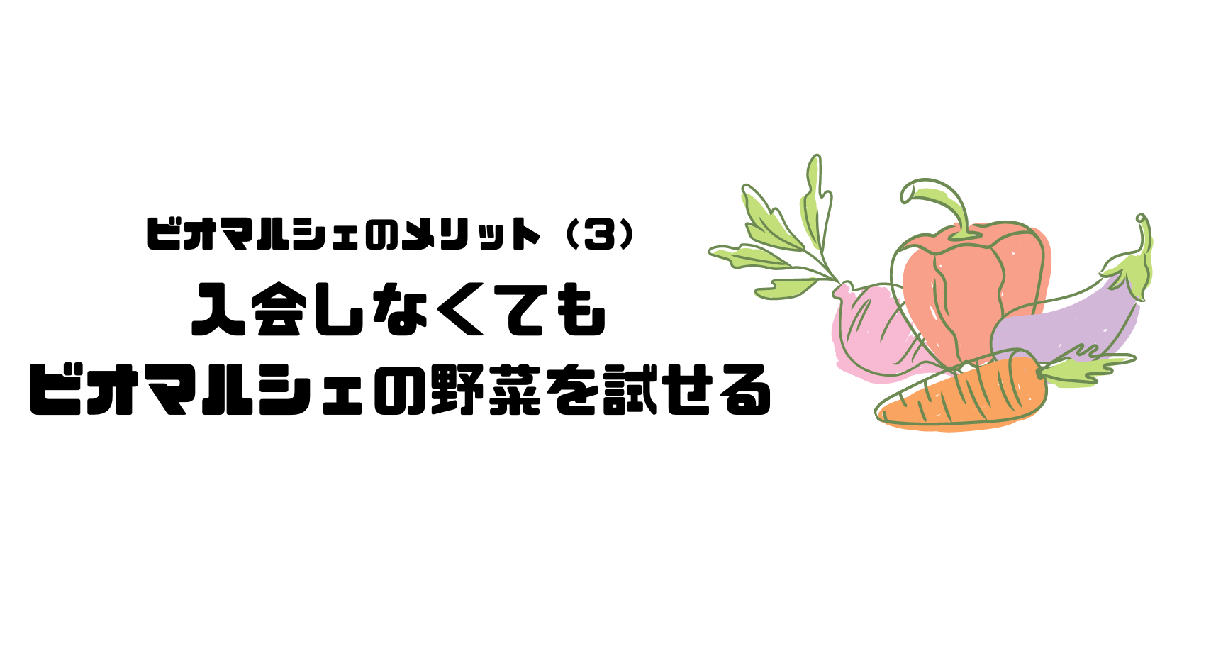 ビオマルシェ_評判_口コミ_メリット_お試しセット