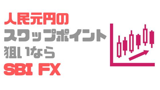 スワップポイント_比較_人民元/円_SBI FXトレード_おすすめ