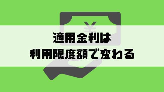 消費者金融_金利_適用金利