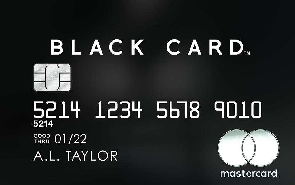 マスターカード_ブラックカード