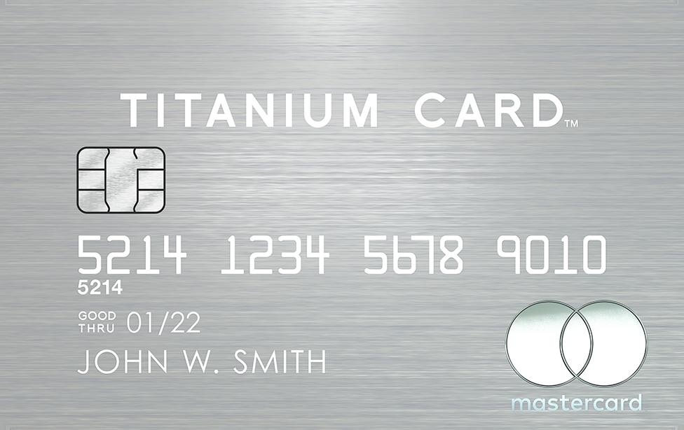 マスターカードチタニウムカード