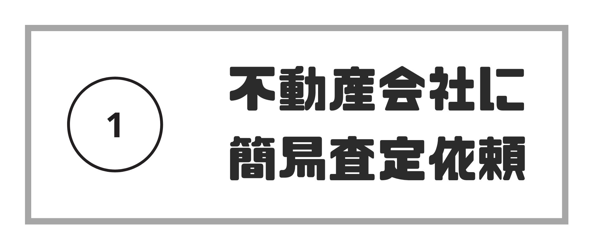 マンション査定_不動産会社に簡易査定依頼