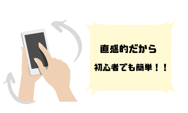 FX スマホアプリ メリット 直感的に操作できる