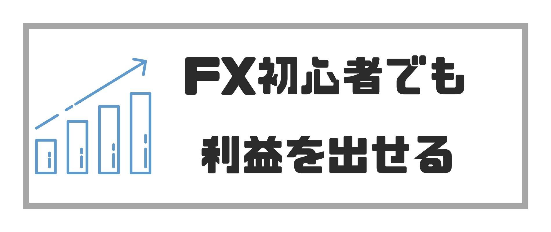 FX儲かる_FX初心者でも利益を出せる