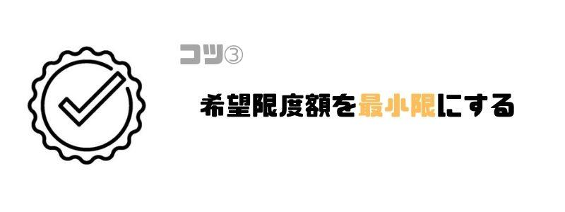 プロミス_審査_最小限