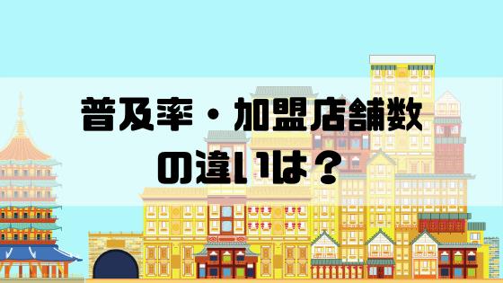 VISA_mastercard_普及率・加盟店舗数