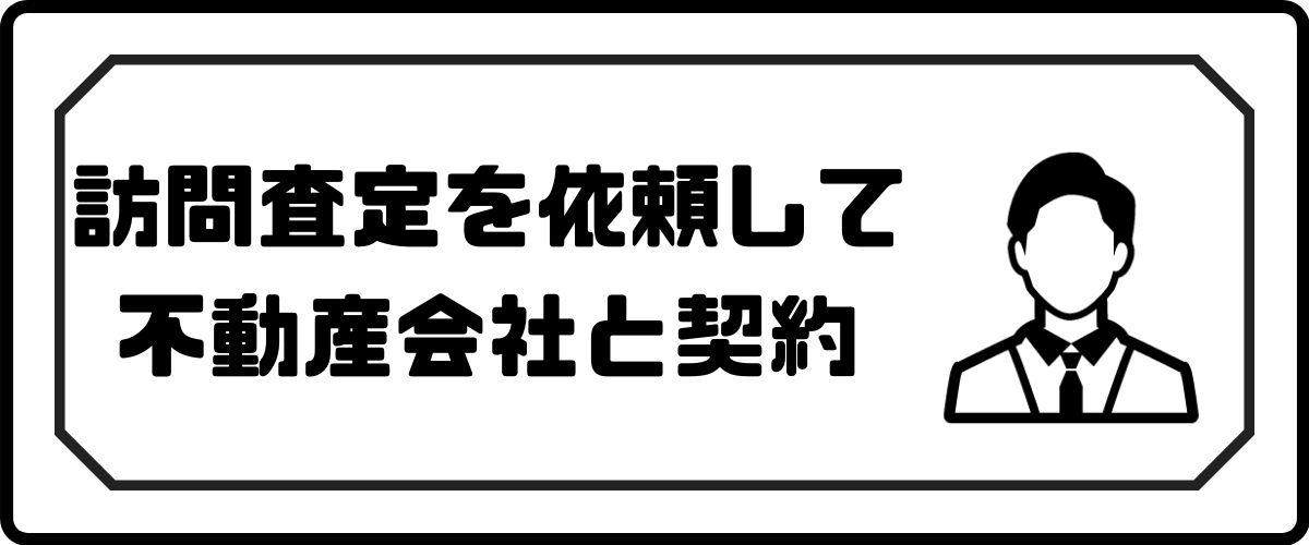 マンション査定_訪問査定を依頼_契約