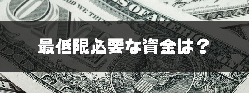 株 購入_最低限必要な資金は?のイメージ画像