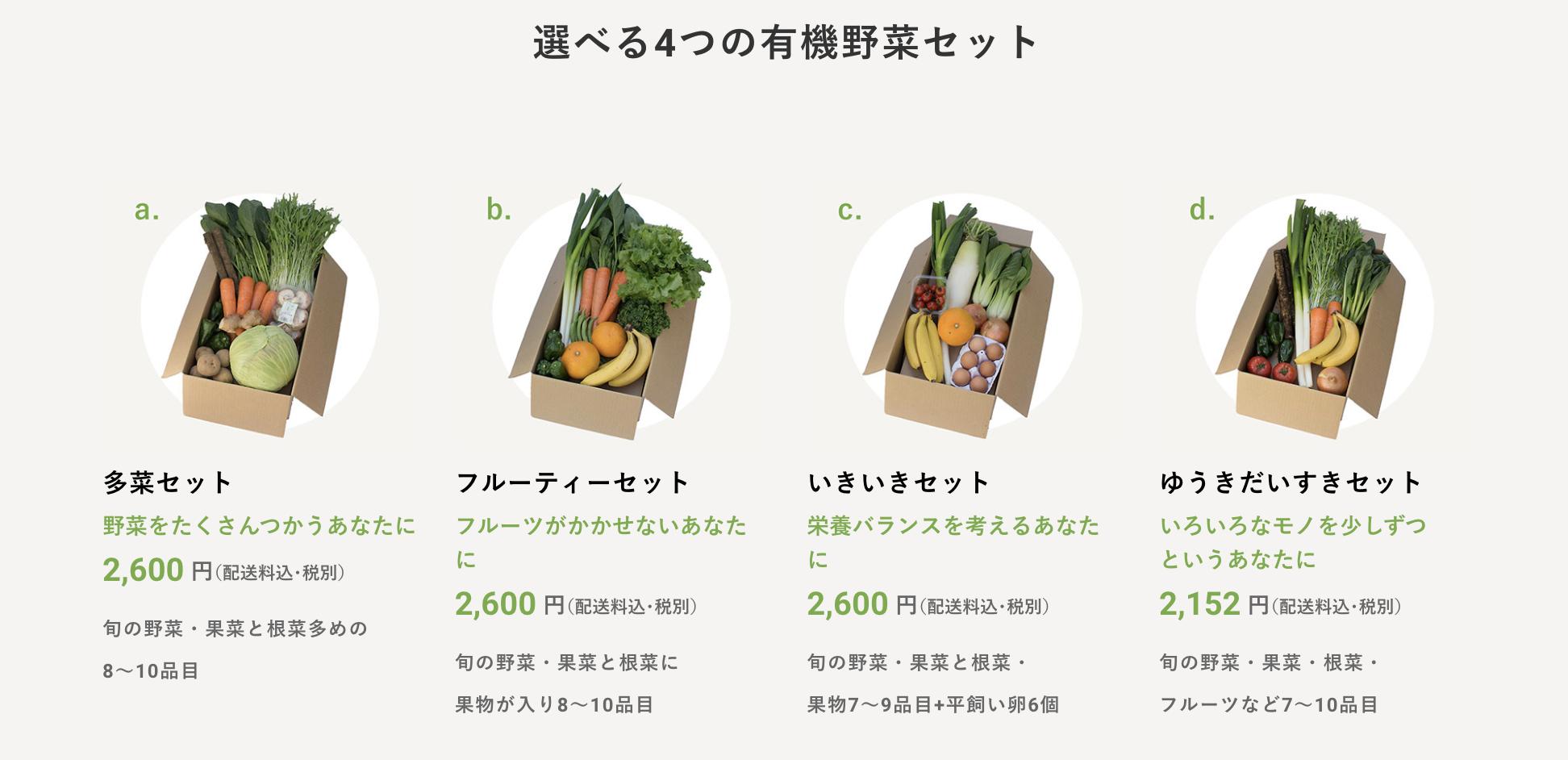 ビオマルシェ_有機野菜セット