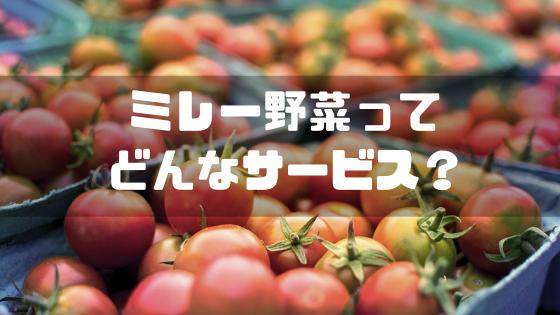 ミレー野菜_概要