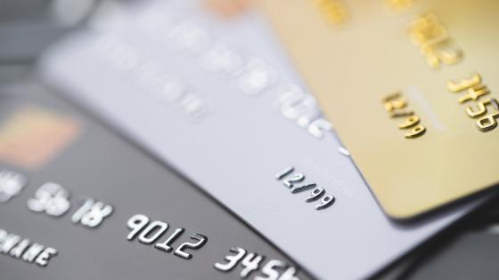 ランクの高い3枚のクレジットカード