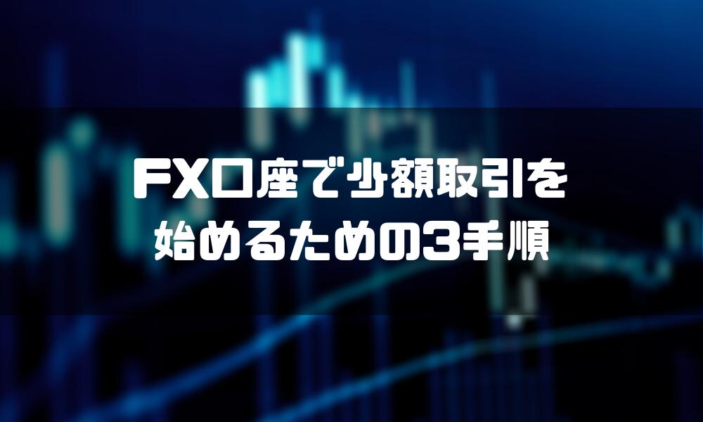 FX_少額_手順