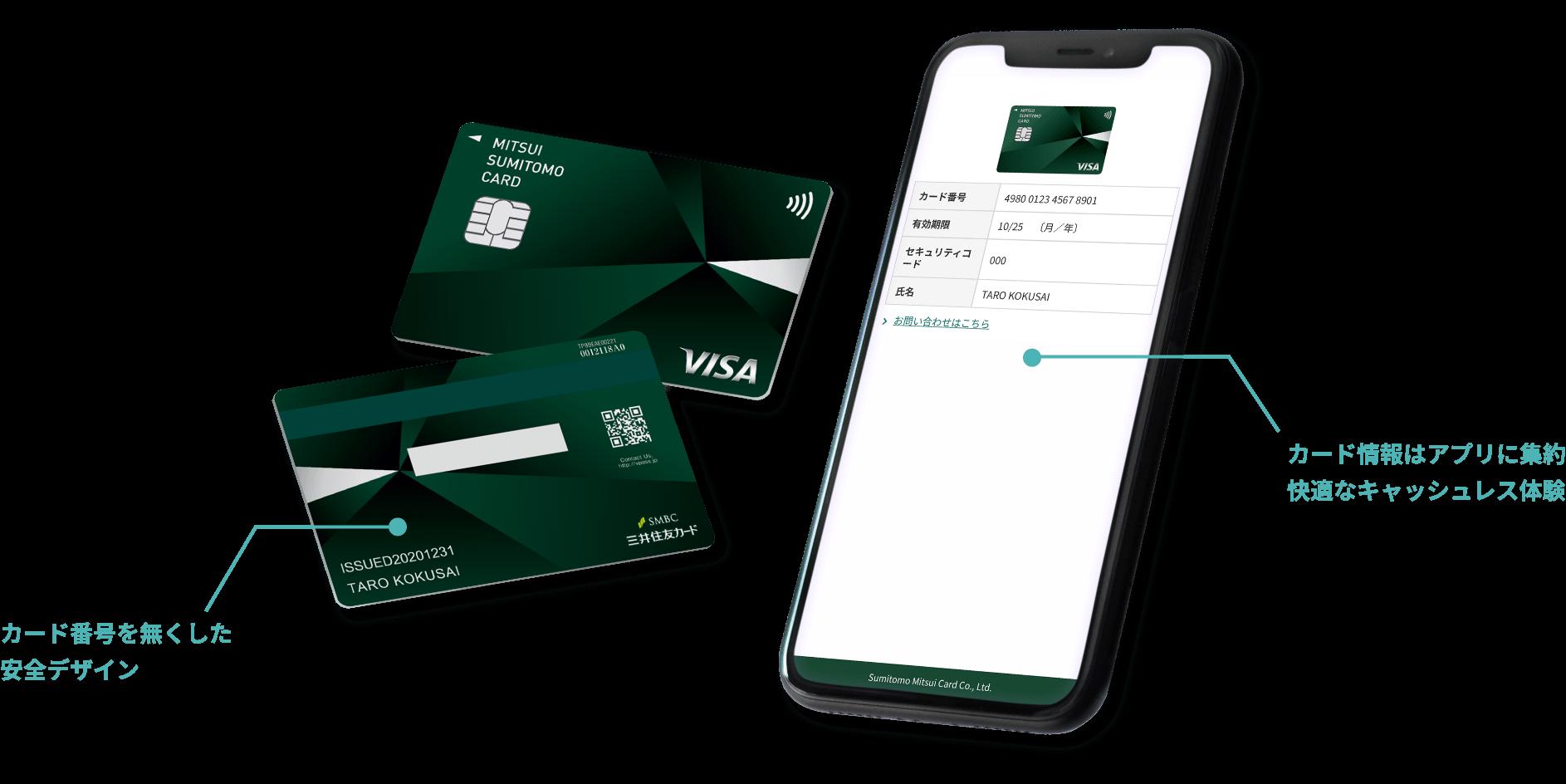 三井住友カード(NL)のアプリ
