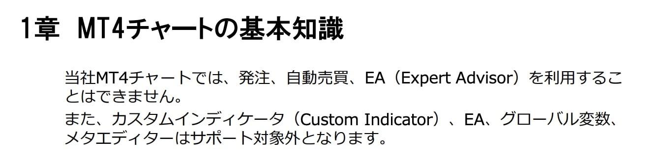 外貨ex_mt4チャート