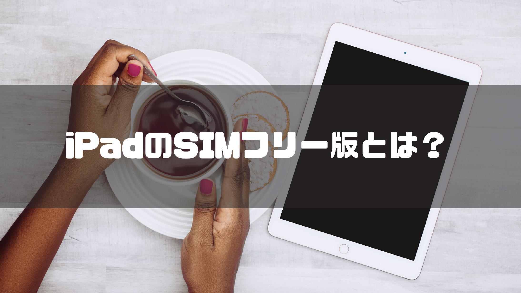 iPad_アイパッド_SIMフリー_説明_わかりやすく