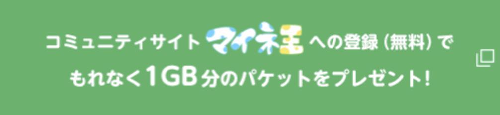 マイネオ_キャンペーン