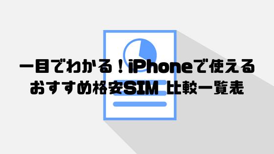 iphone_格安sim_比較表