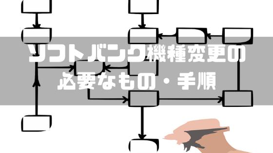 SoftBank_機種変更_必要なもの_手順