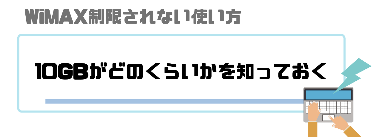 WiMAX_3日_10GB_どのくらい