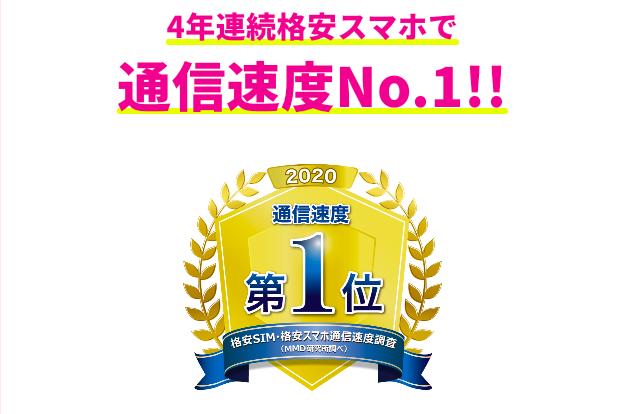 格安sim_通信速度no.1