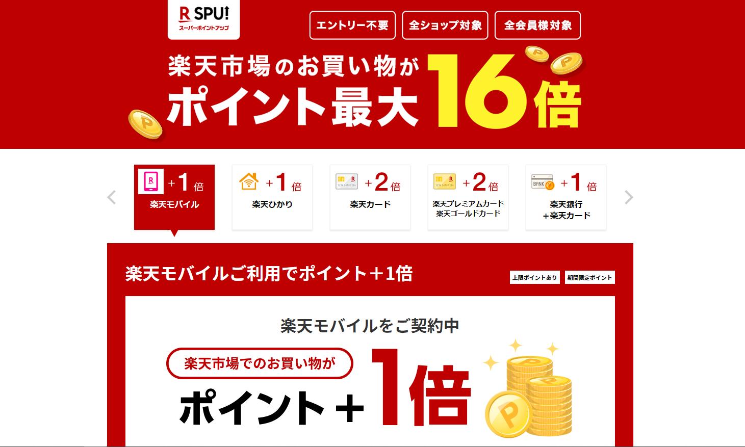 iPhone12_楽天モバイル_スーパーポイントアッププログラム