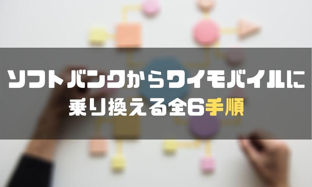 ソフトバンク_ワイモバイル_手順