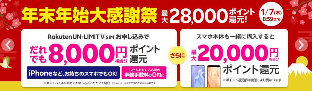 楽天モバイル_評判_SIMキャンペーン