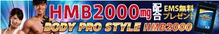 BODY PRO STYLE HMB2000