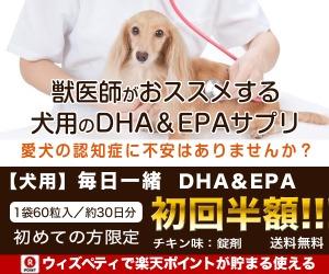 犬用認知症予防サプリ 毎日一緒 DHA&EPA