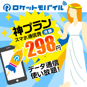 通話プラン【ロケットモバイル】業界最安級!格安SIM