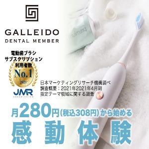 電動歯ブラシのサブスク「GALLEIDO DENTAL MEMBER(ガレイドデンタルメンバー)」の特徴
