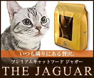 英国産こだわり品質のキャットフード【ジャガー】初回購入モニター